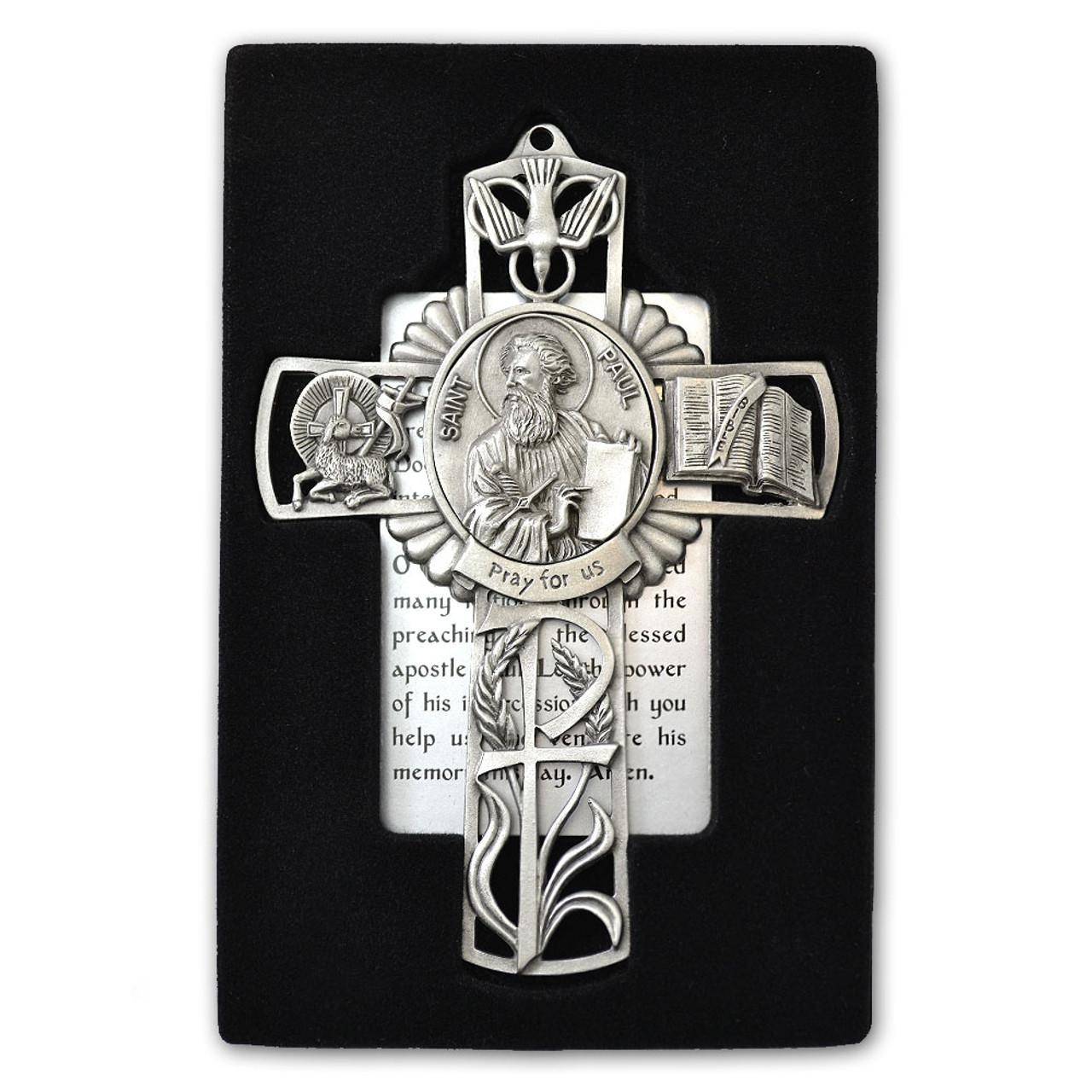 St Paul Pewter Cross