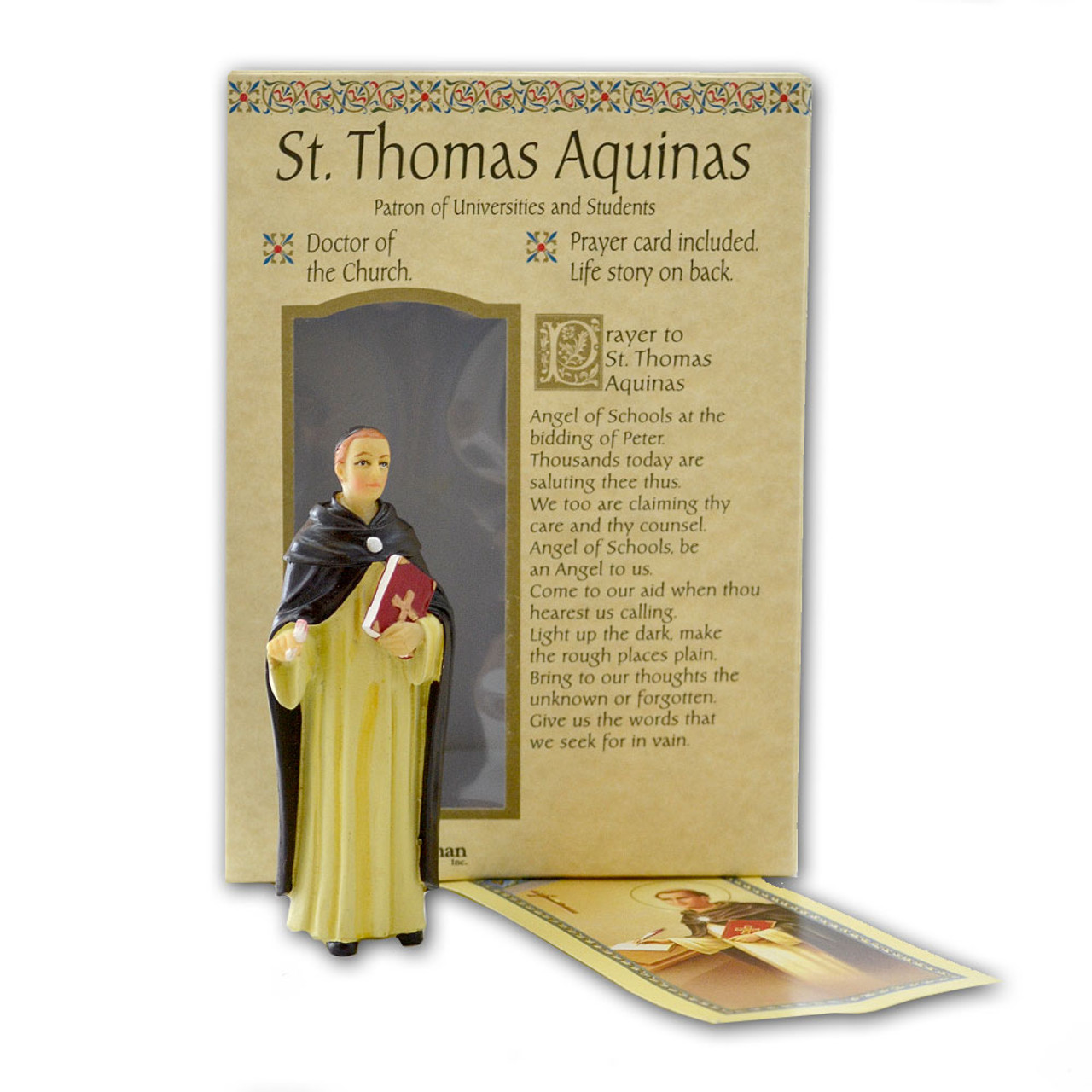 St Thomas 4 Inch Resin Statue