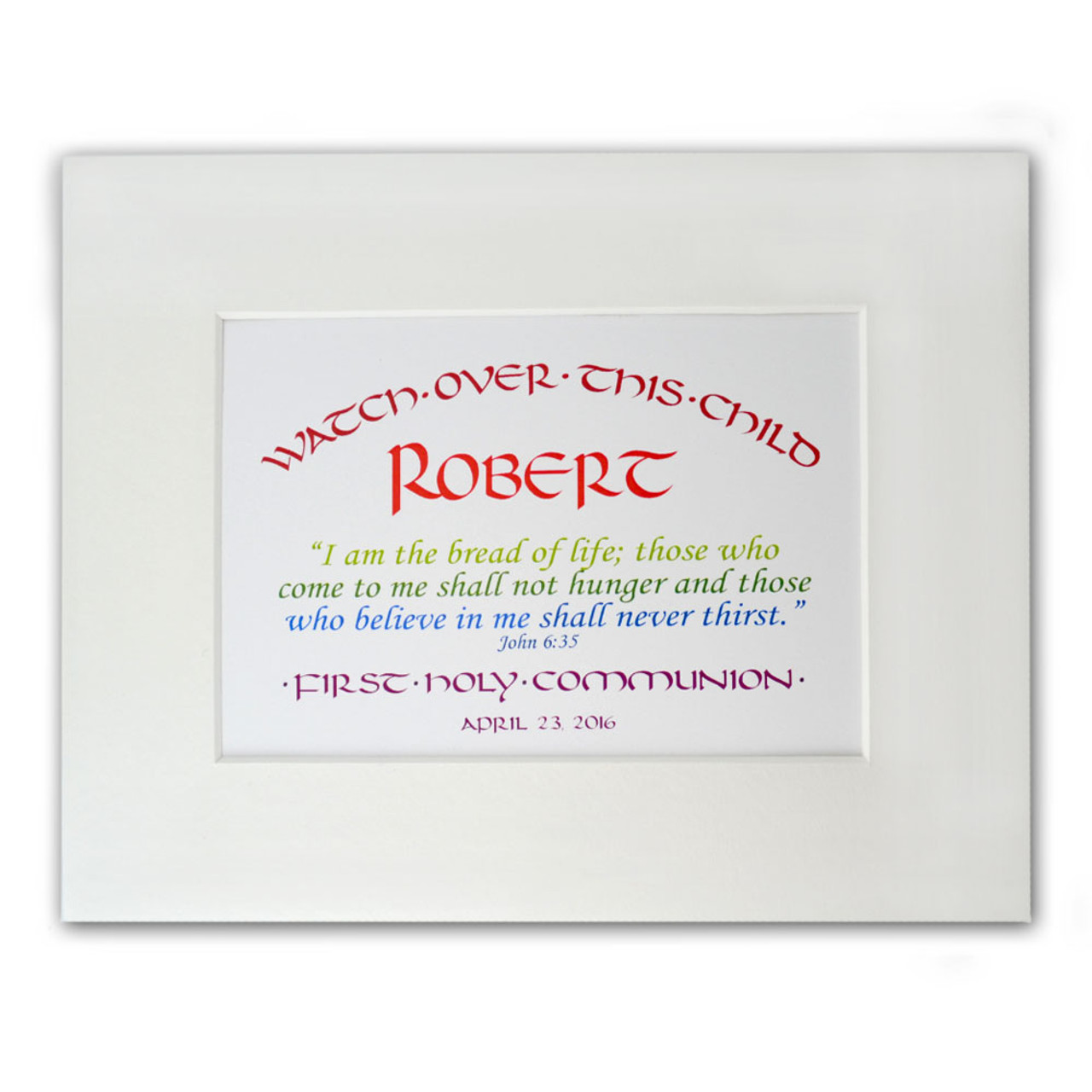 Personalized First Communion Gift