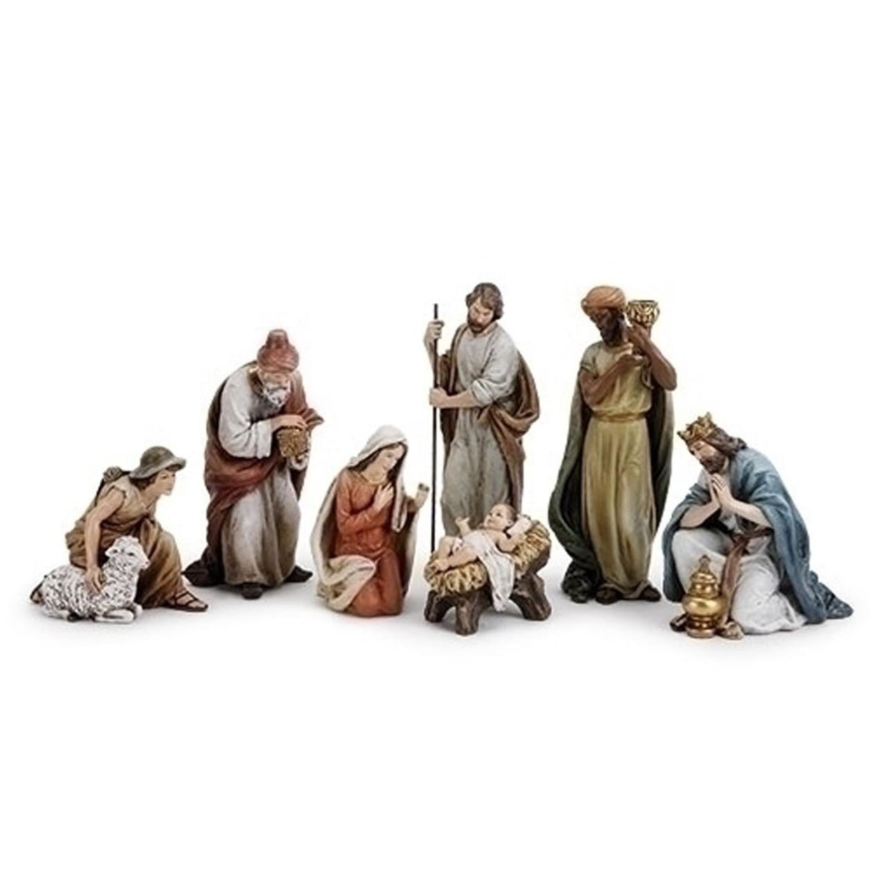 Nativity Set 7PC 9-1/2IN Joseph Studio