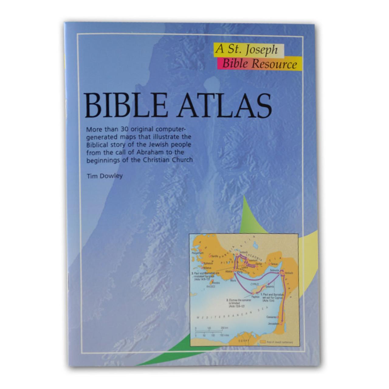 Bible Atlas St. Joseph Bible Resource