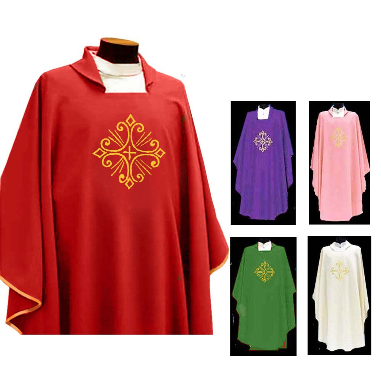 351 Red Chasuble