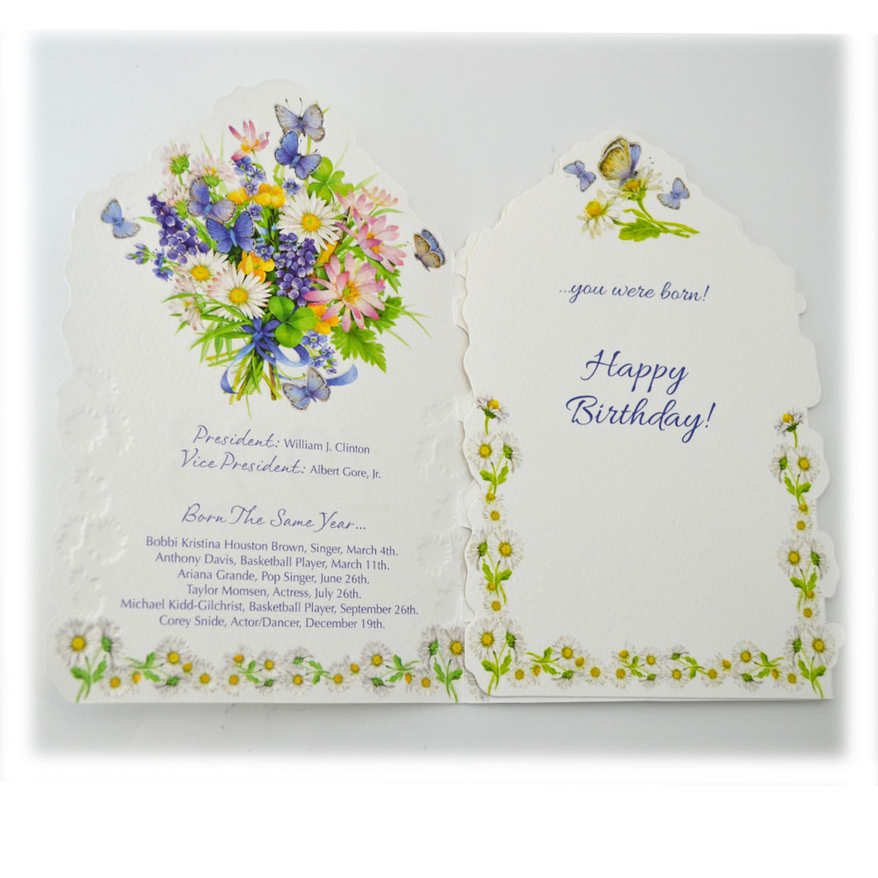"""Year of Birth "" Greeting Cards"