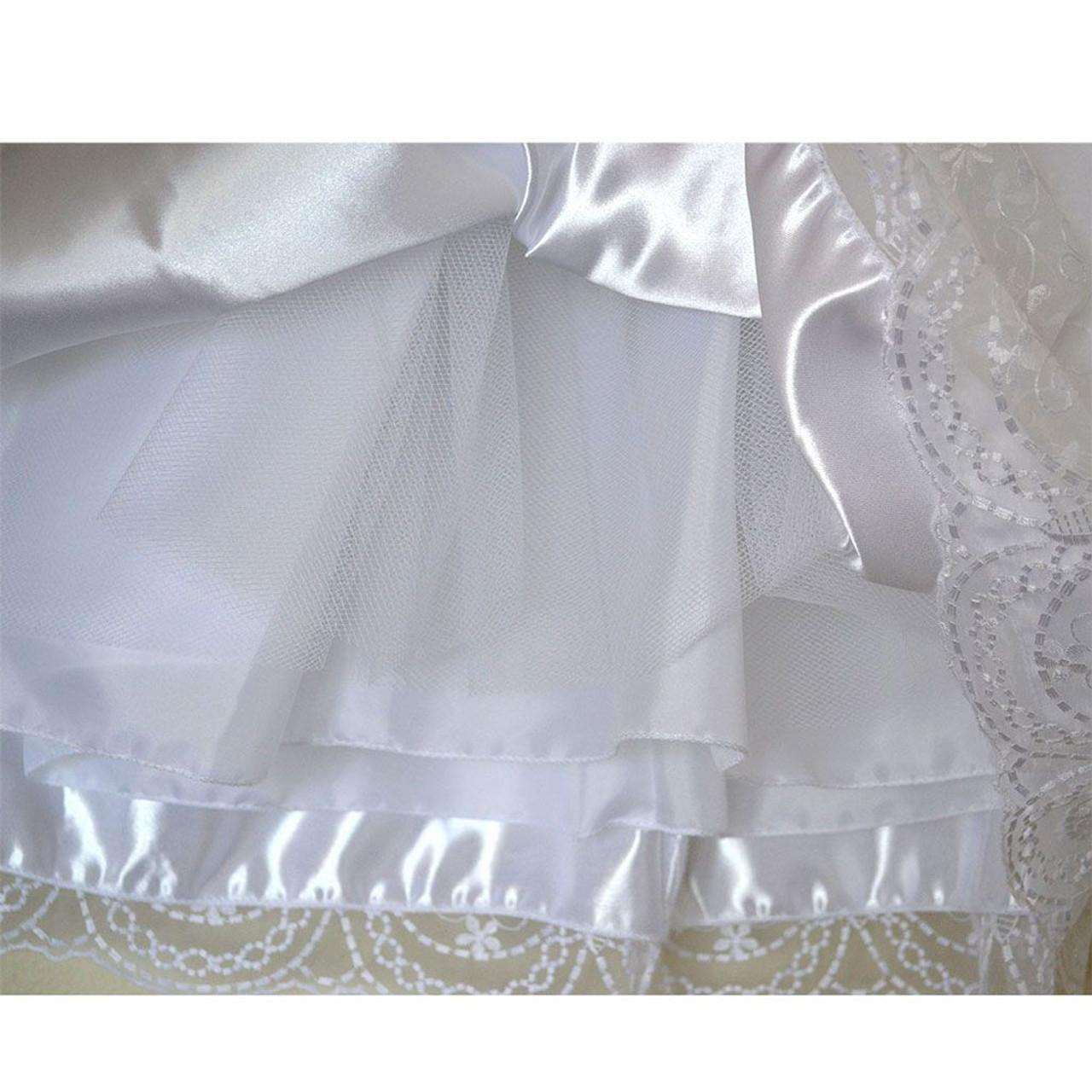 Rosemarie Communion Dress underskirt detail