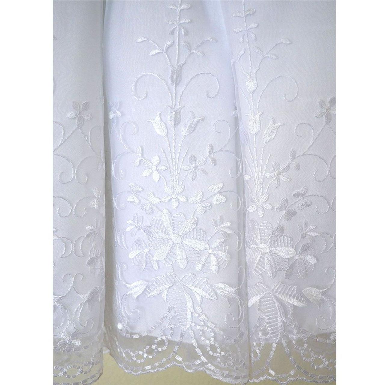 Rosemarie Communion Dress Hem Detail