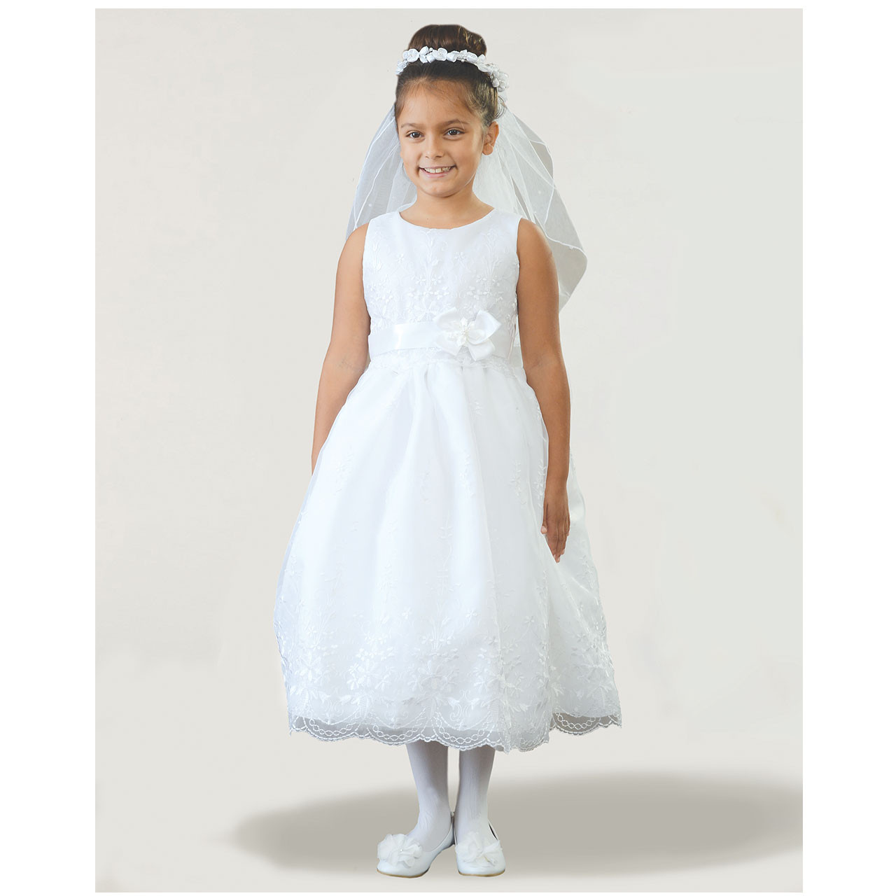 Front of Rosemarie Communion Dress