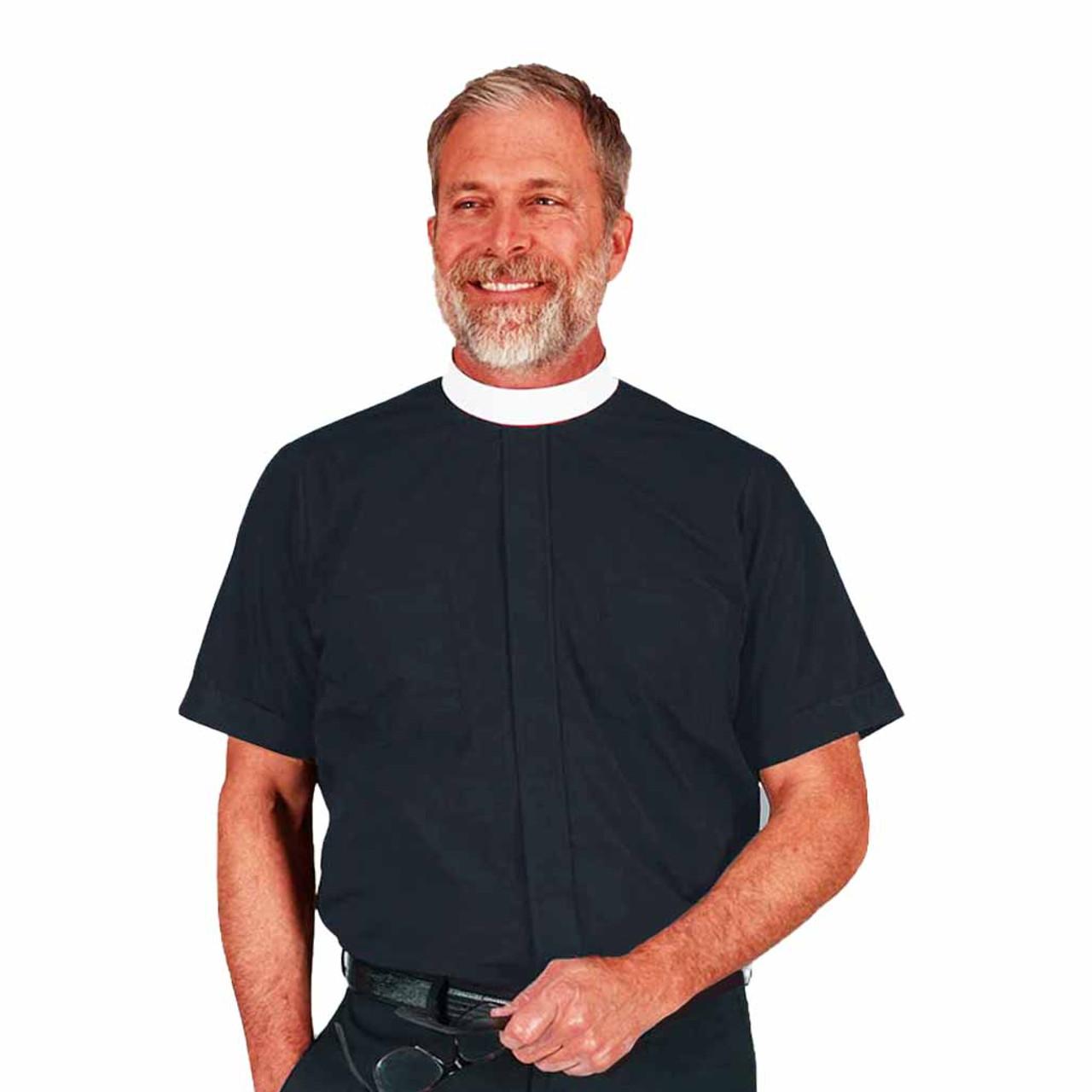 202 SS Black Neckband Shirt
