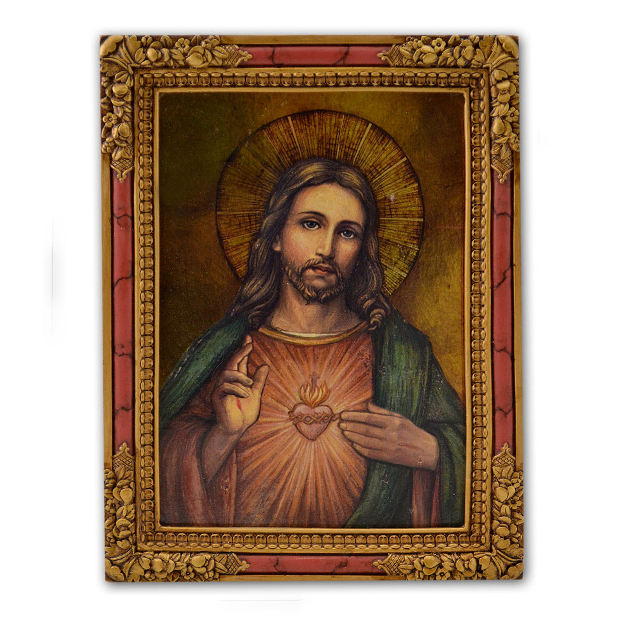 Sacred Heart Icon 7.25IN