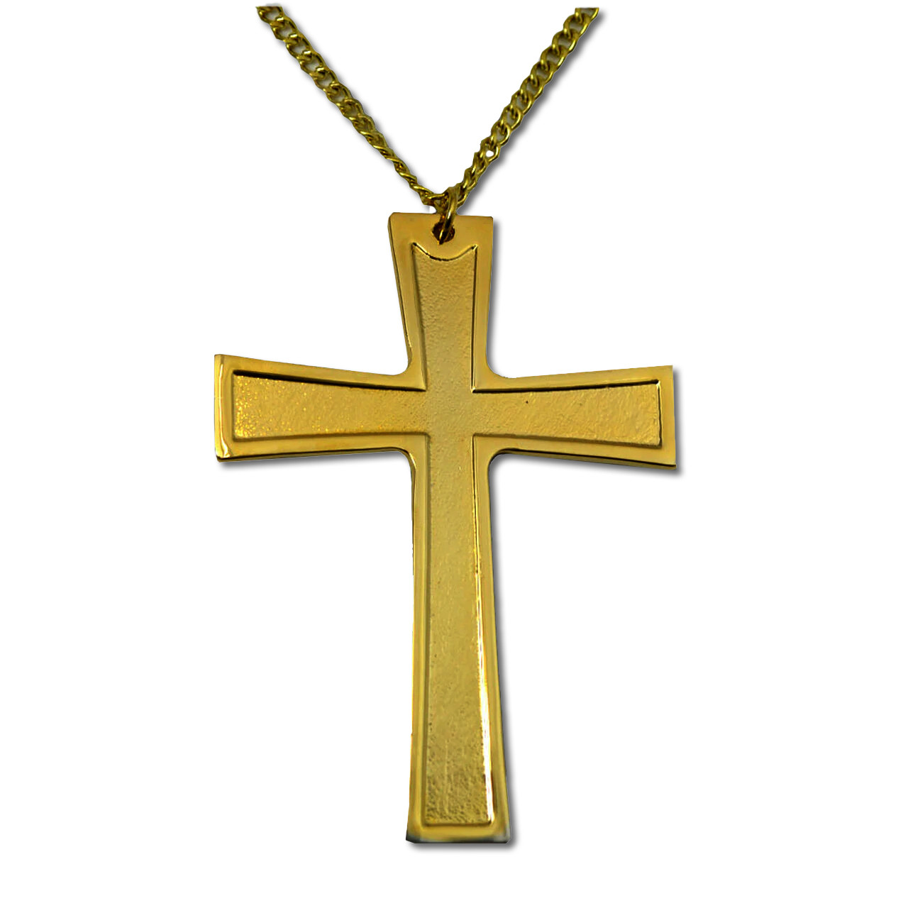 Pectoral Cross Gold Plated