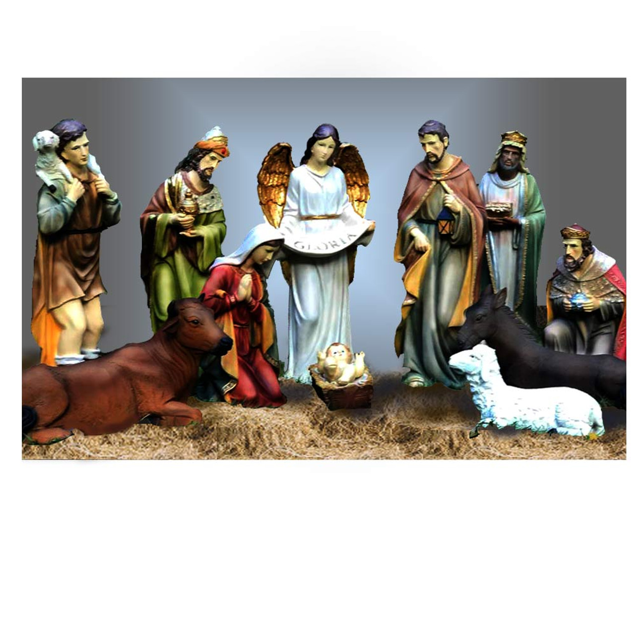 "53374 12pc 27"" Nativity Set"