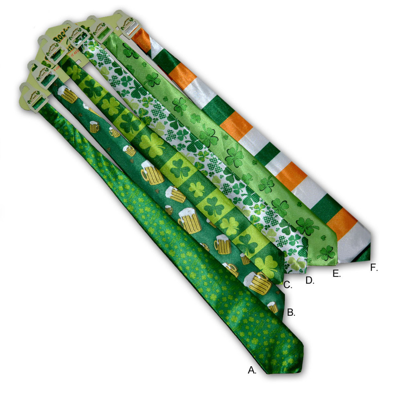 Assorted Irish Neckties - Each Sold Separately