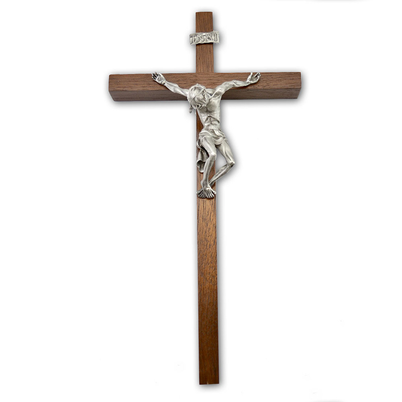 """""""Pained Christ"""" Crucifix 10IN"""