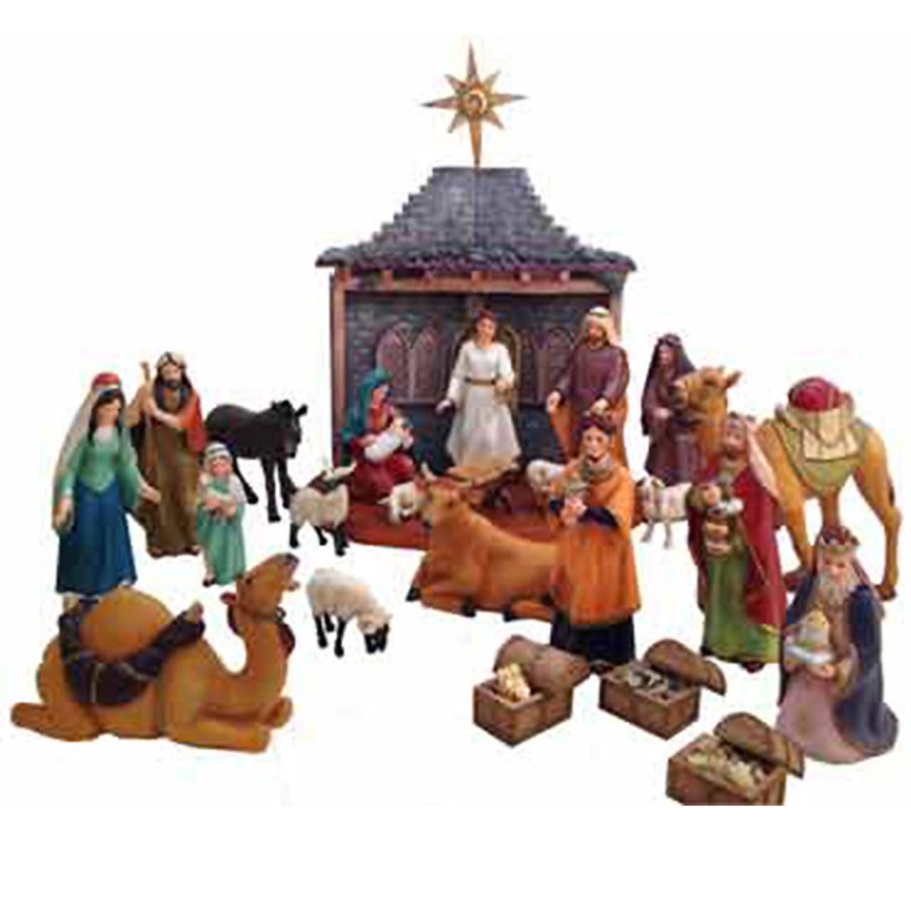 "26-Piece 7"" Nativity Set: Made in Bethlehem"