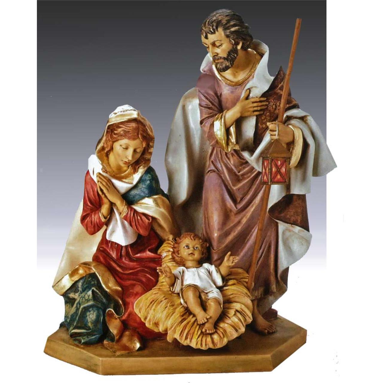"""Fontanini 27"""" Holy Family"""