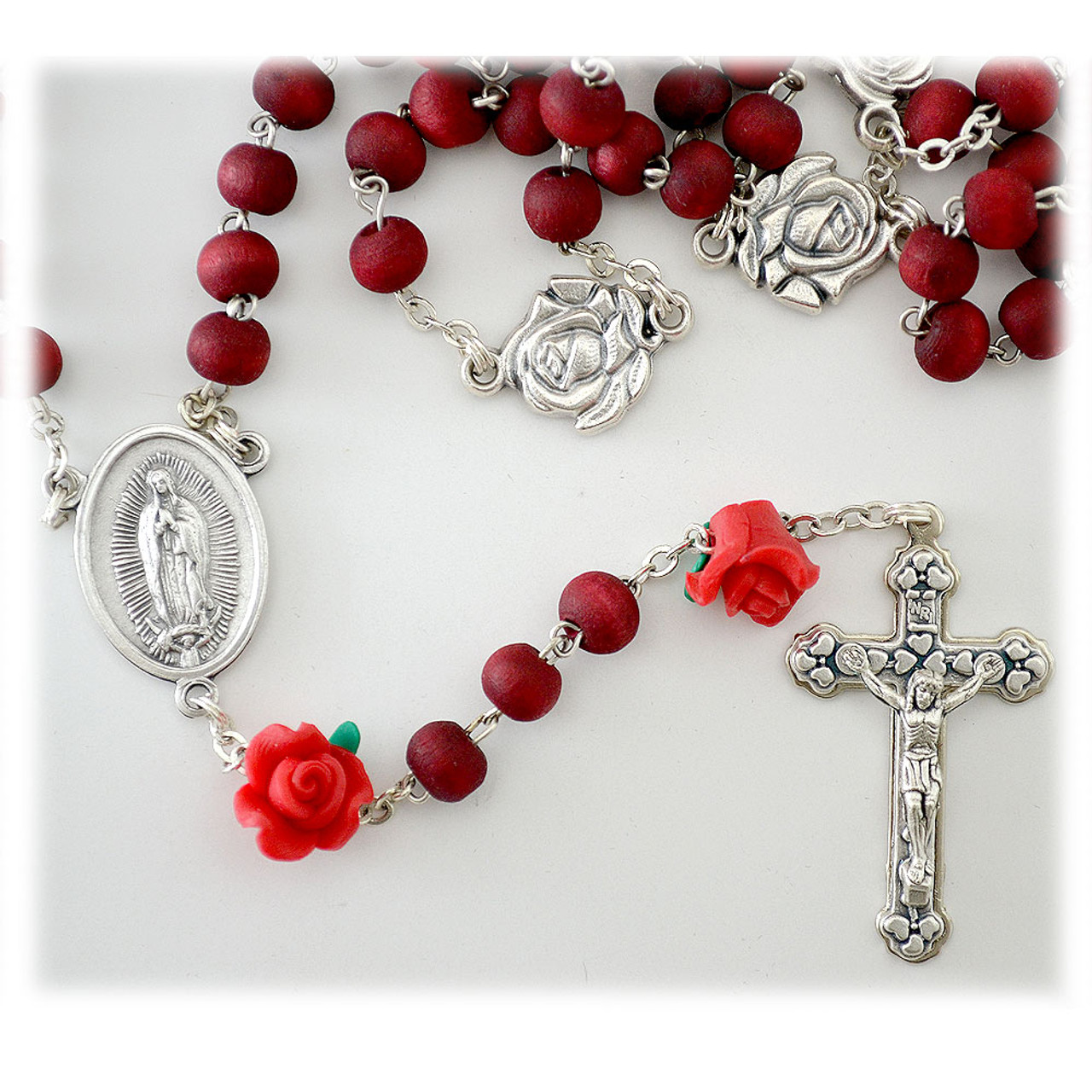 7MM Our Lady Guadalupe Rosary