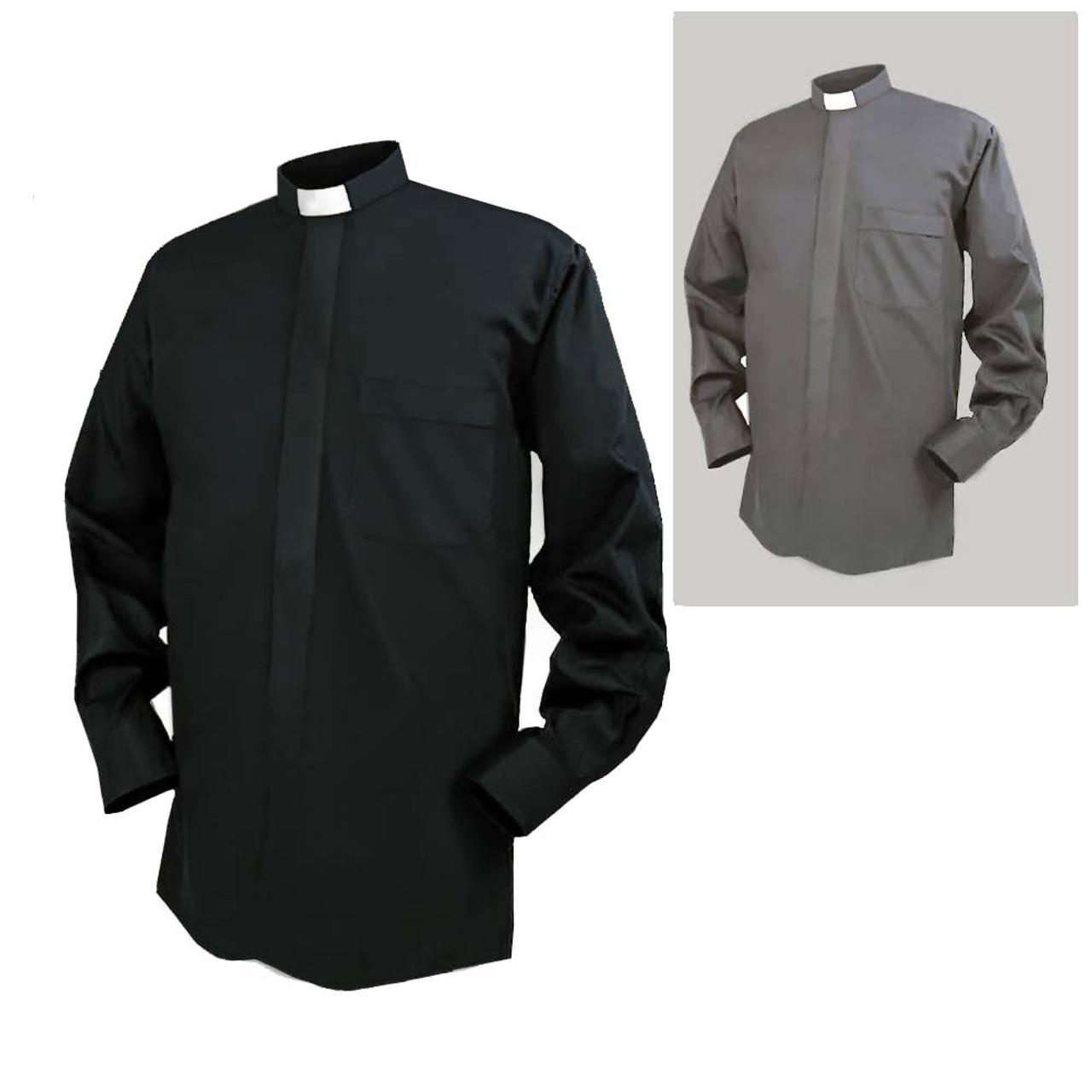 Reliant LS Tab Clergy Shirt