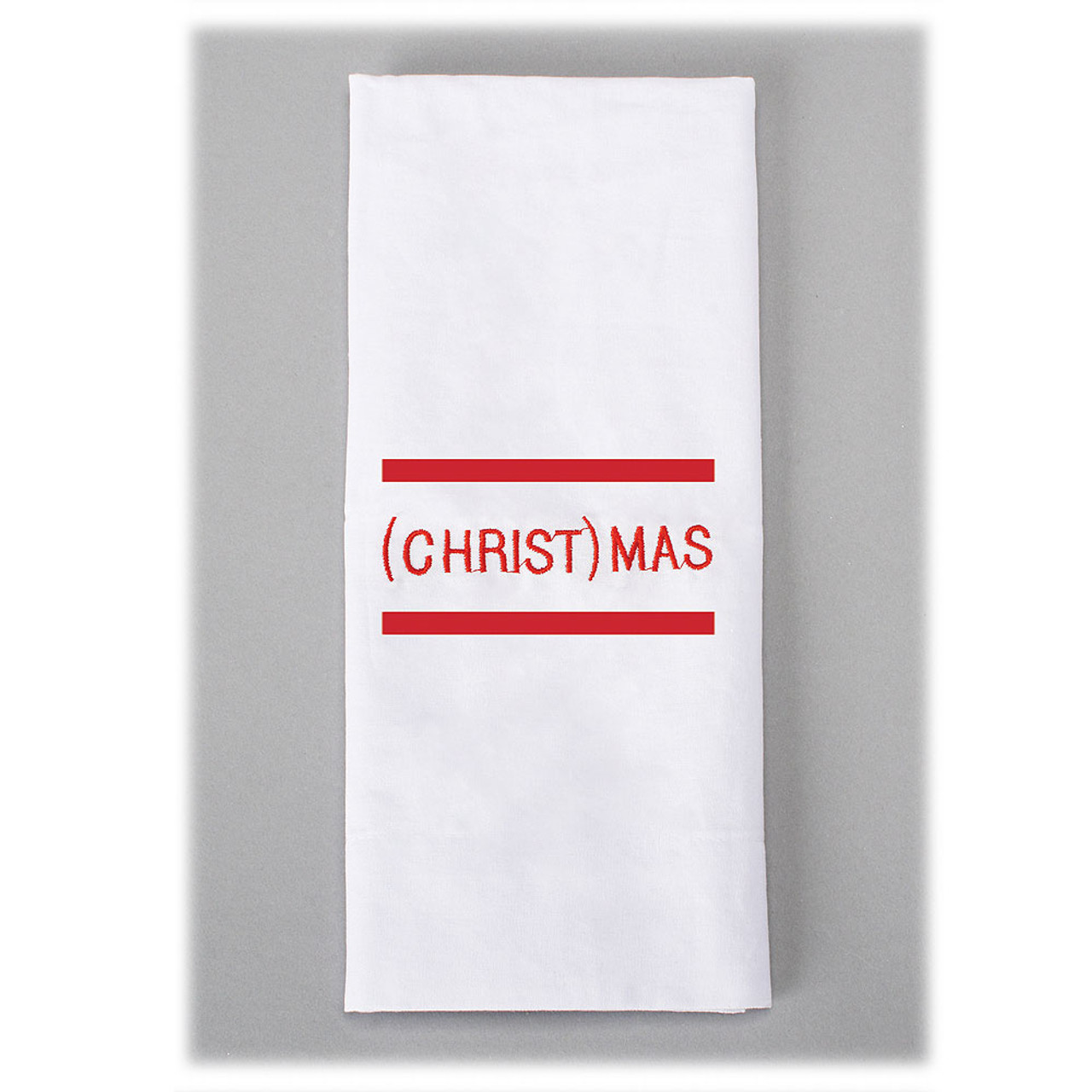 (Christ)Mas Tea Towel 22IN