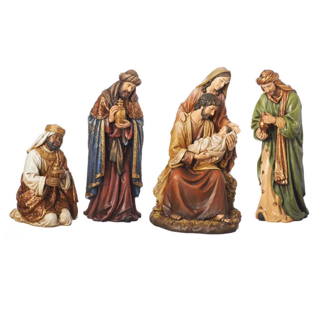 4PC Nativity Set 16IN