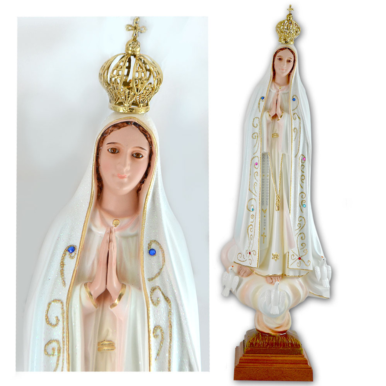 Our Lady of Fatima Statue 20IN