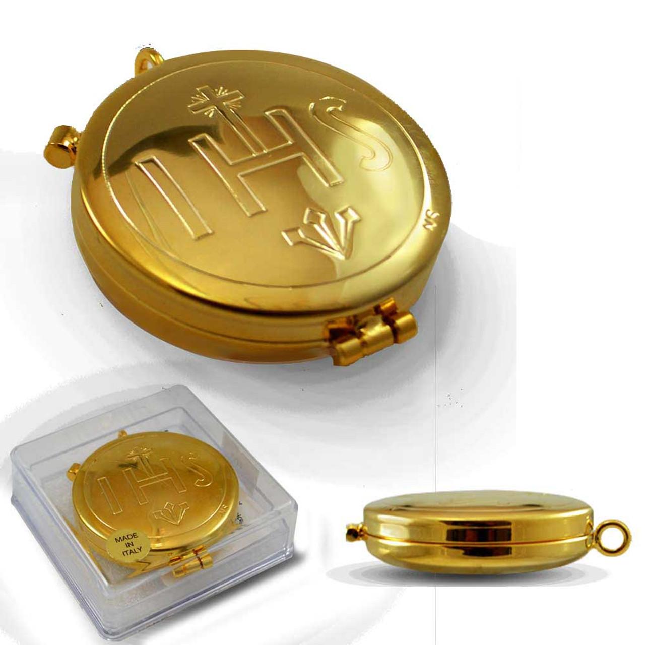 CS 503 Large Gold Plate Pyx