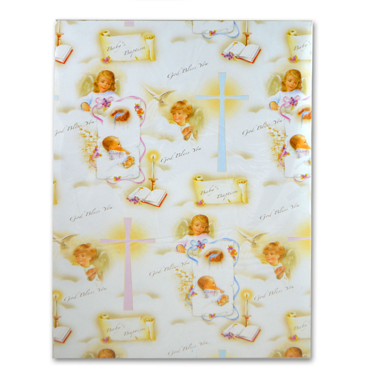 Baptism Wrapping Paper