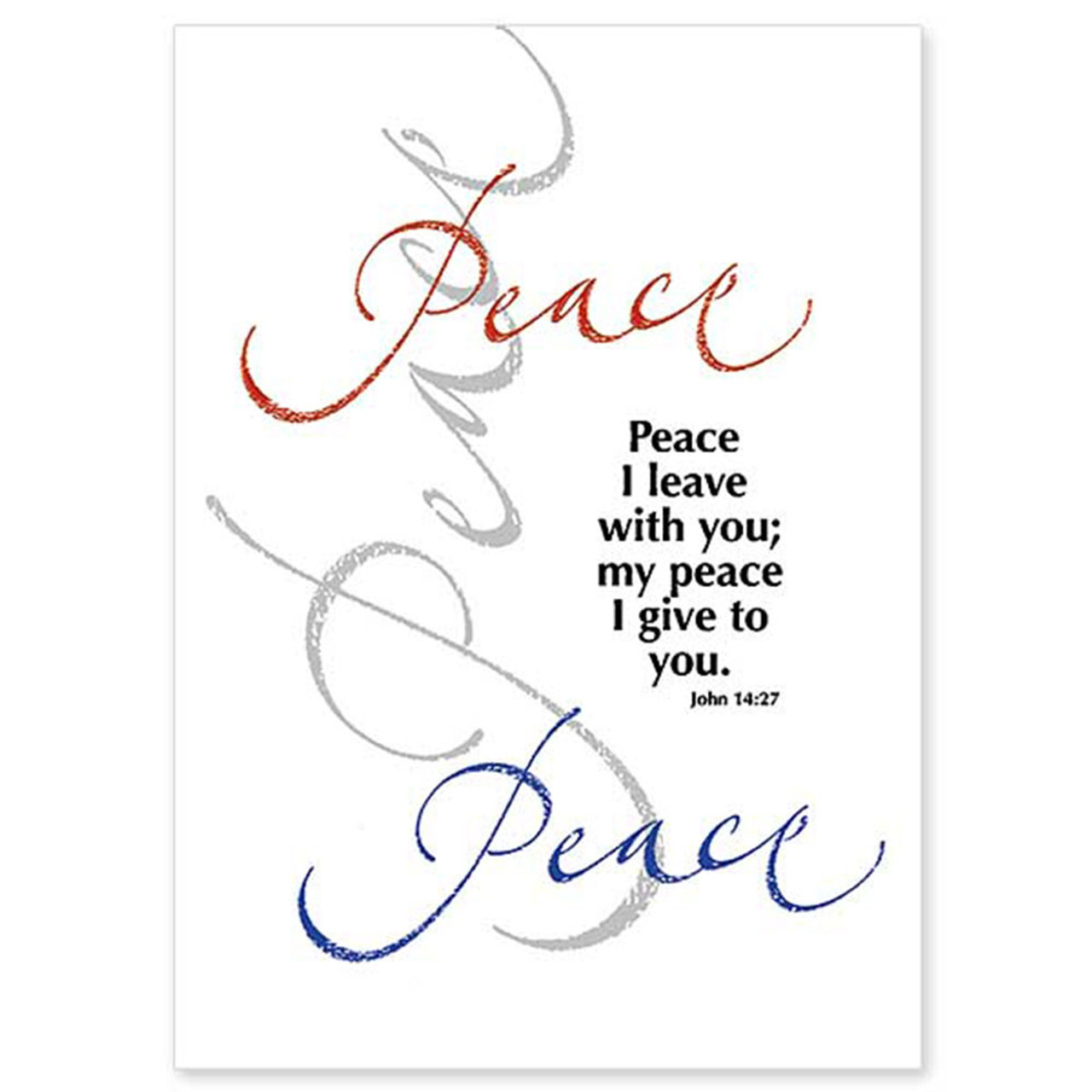 Peace Christmas Cards Boxed