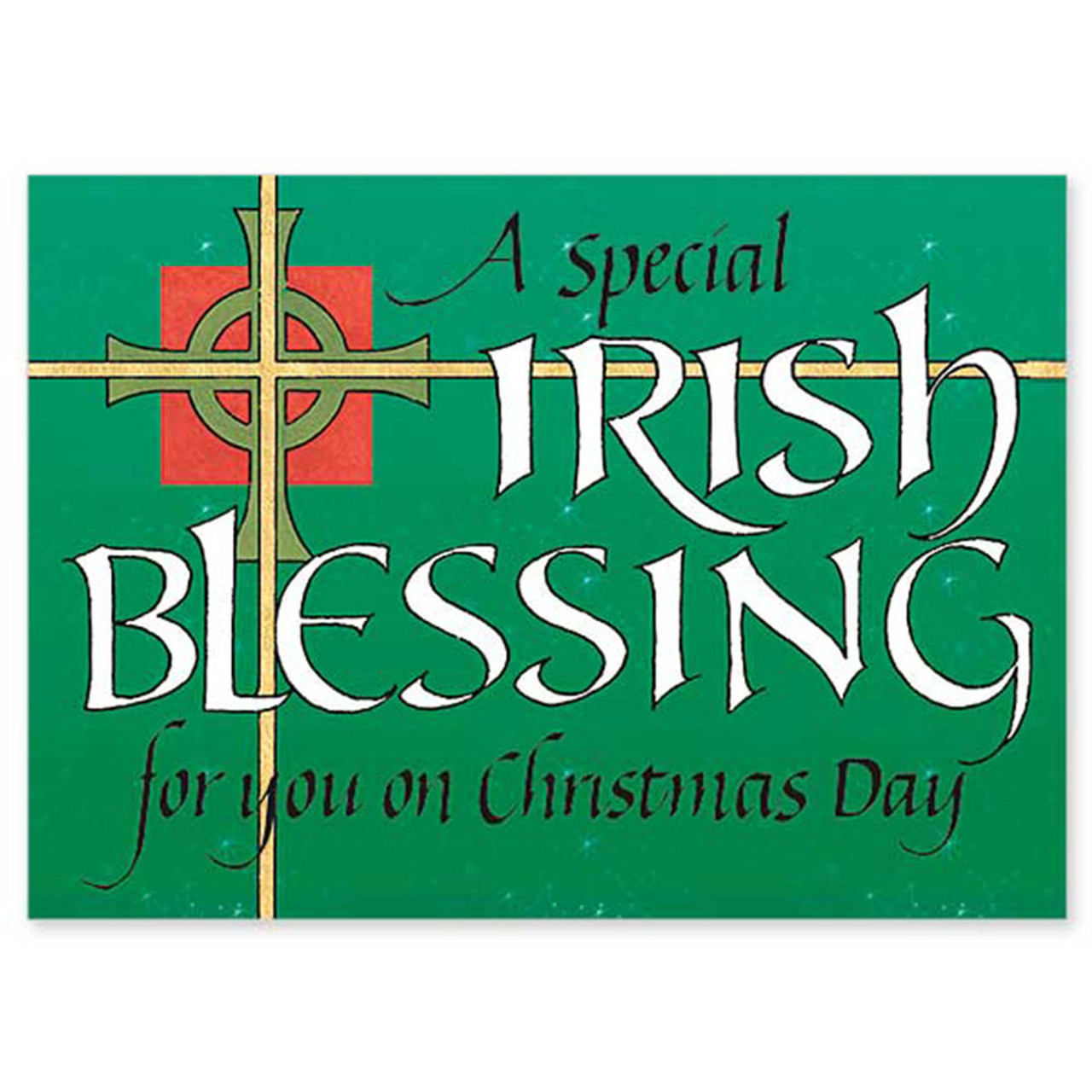 Irish Blessing Christmas Cards Boxed