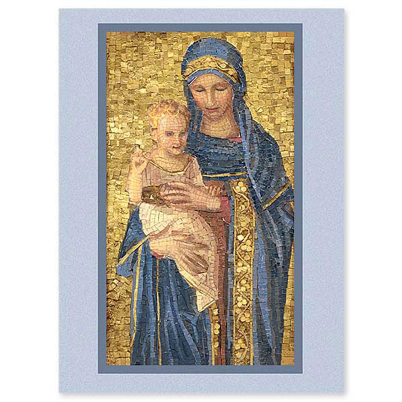 Mosaic Madonna Boxed Christmas Cards