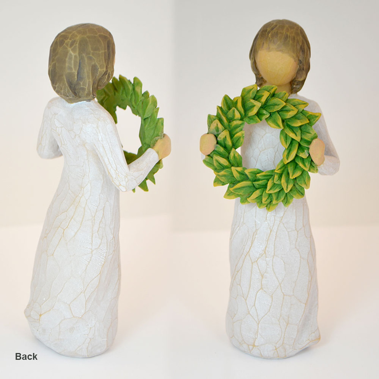 Wreath Figurine Willow Tree