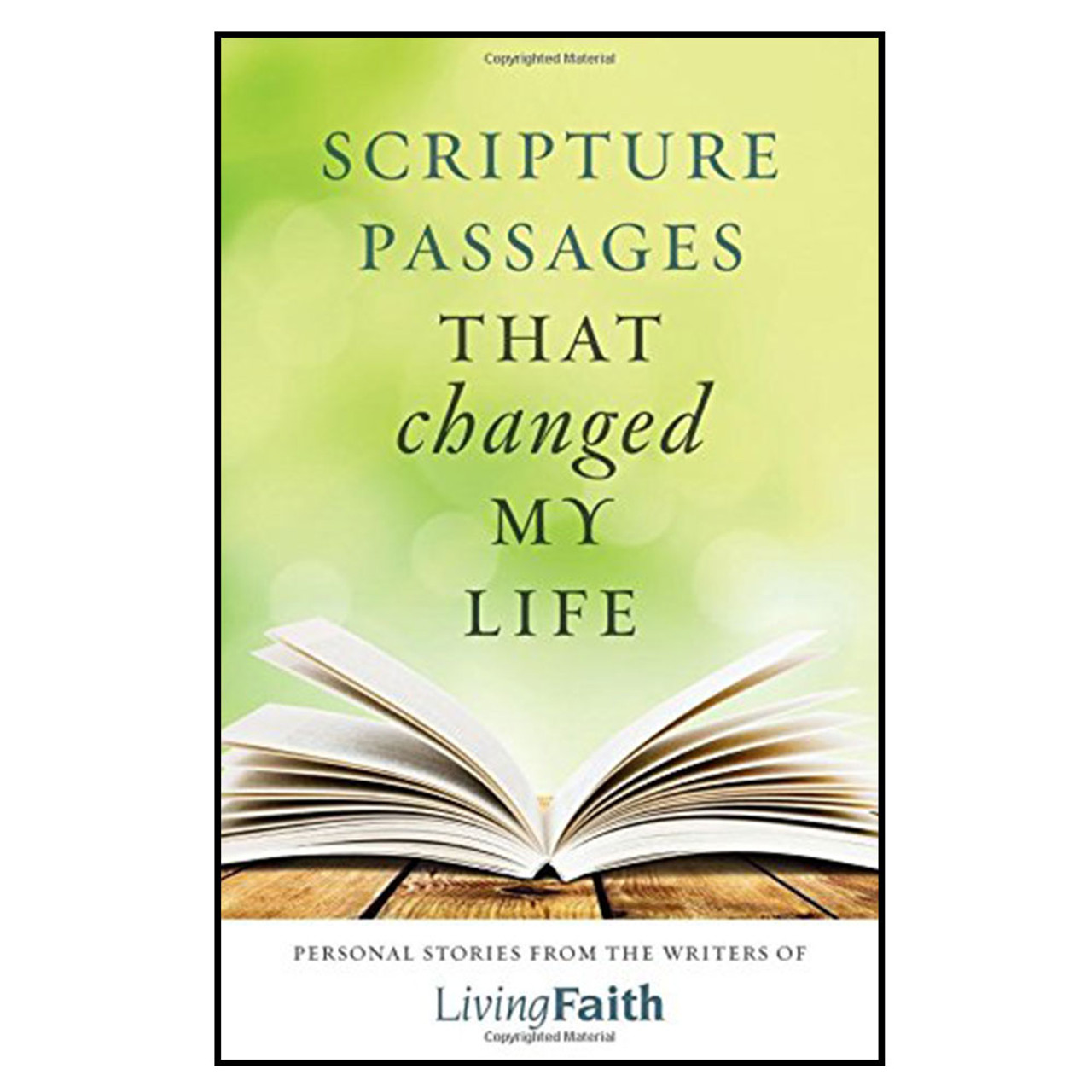 Scripture Passages That Changed My Life