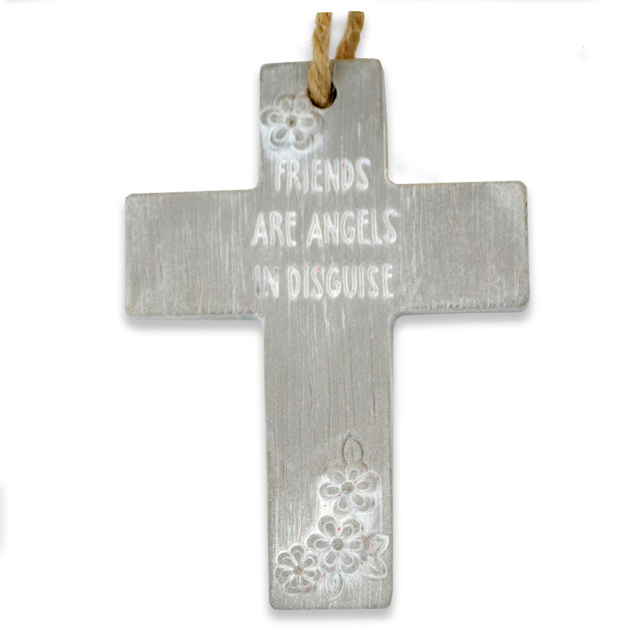 Friends Are Angels Wall Cross