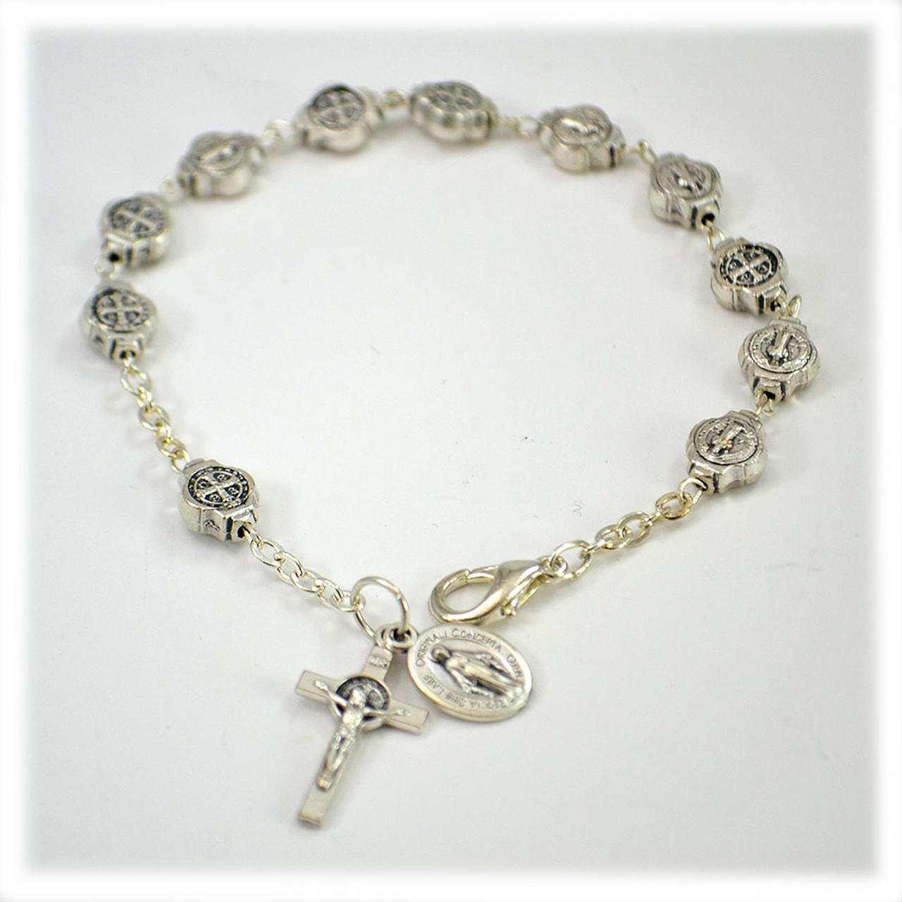 St. Benedict Bracelet Metal