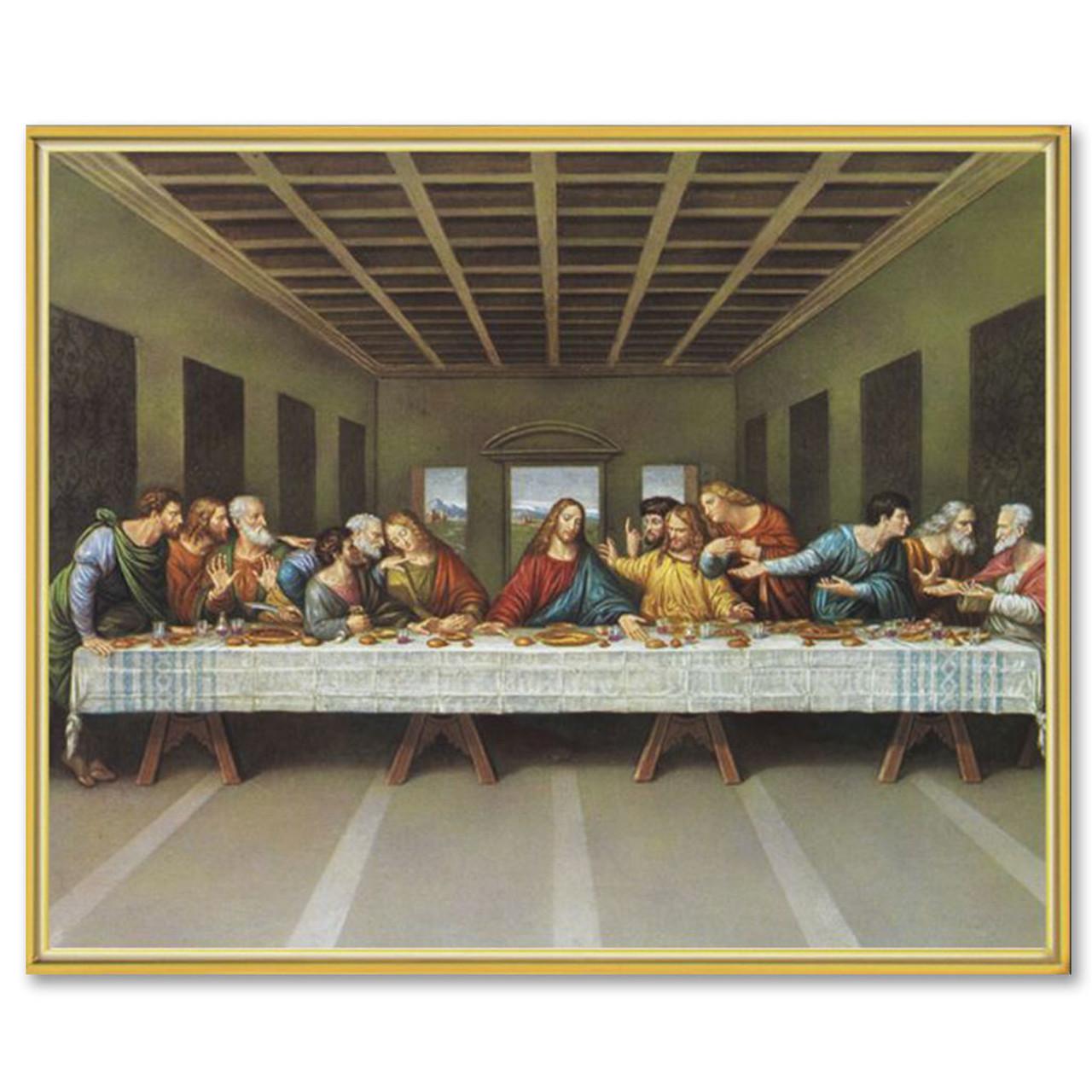 Last Supper DaVinci 8x10