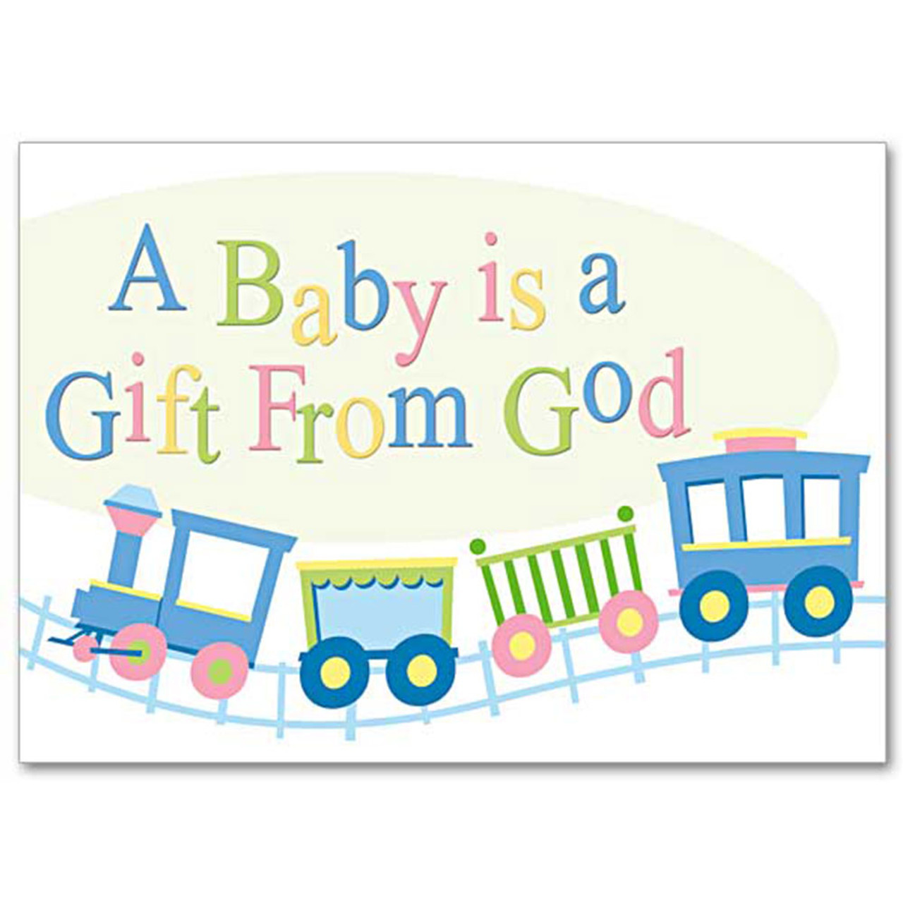 New Baby Card A Baby is a Gift