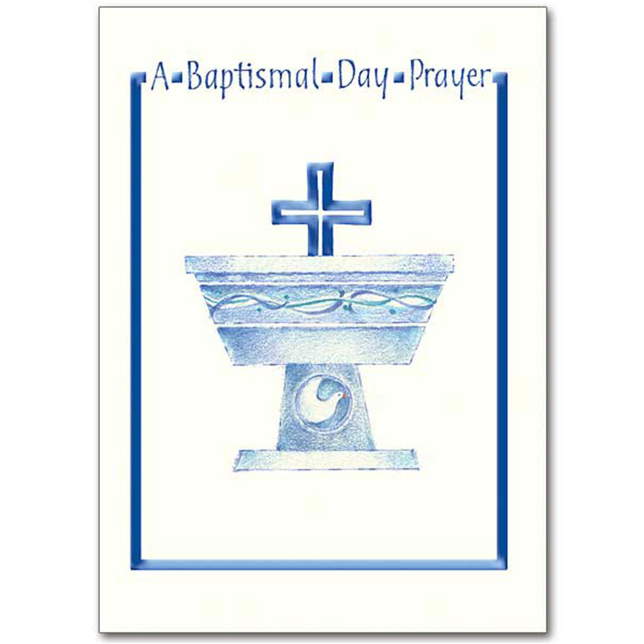 Baptismal Prayer Card