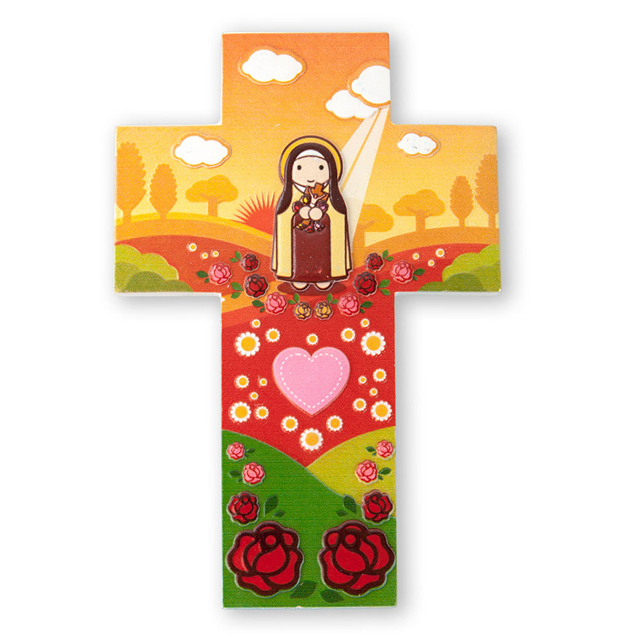 St. Therese Cross for Kids