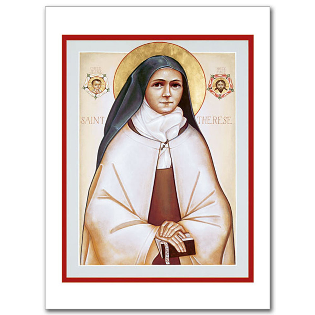 St. Therese of Lisieux Icon Card