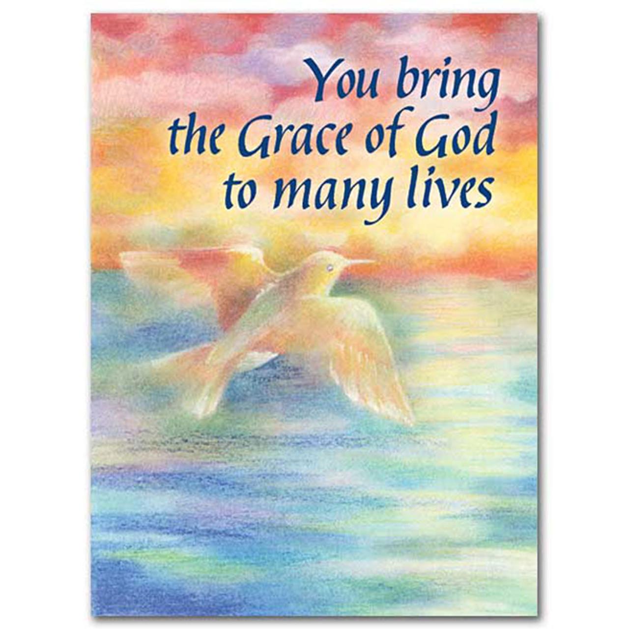 Thanking God Birthday Card