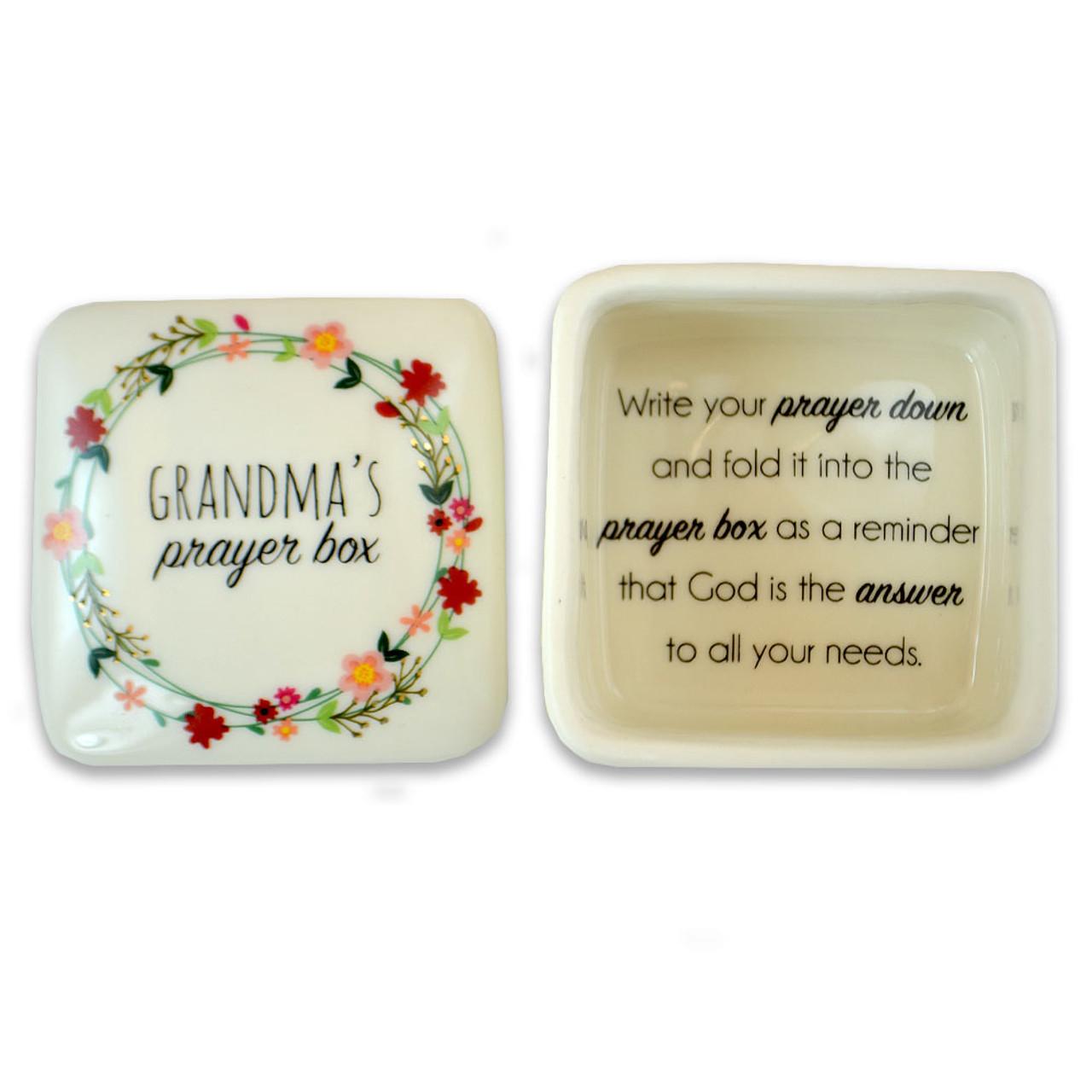 Prayer Box for Grandma 2.5IN