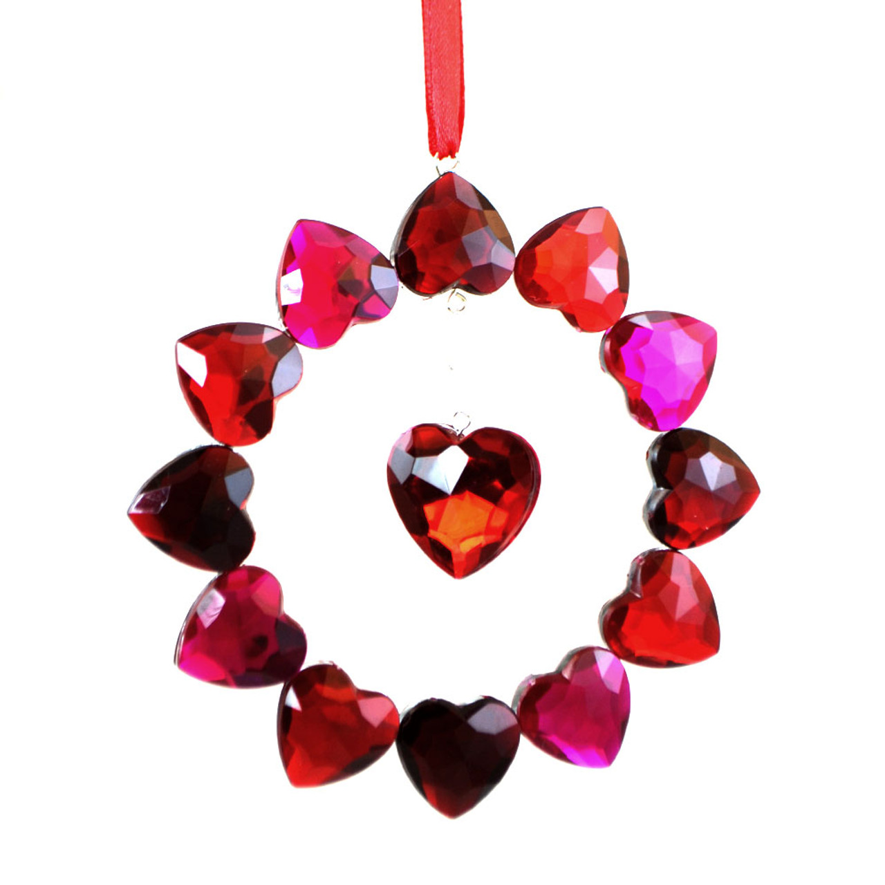 Crystal Love Ornament