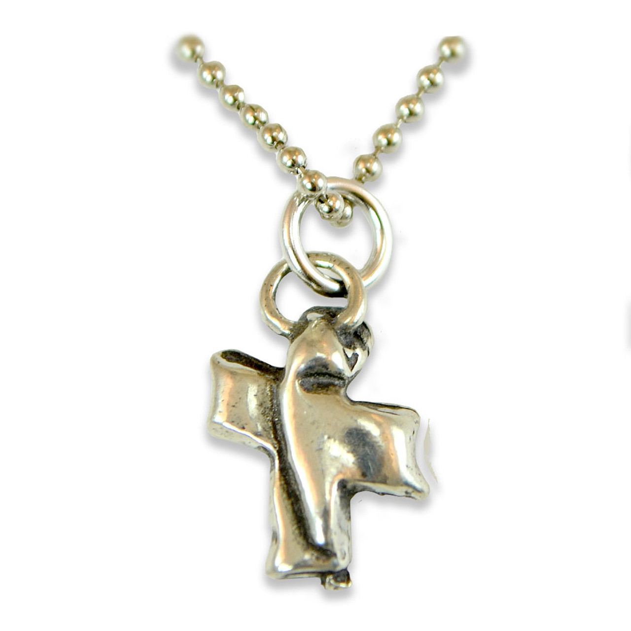 Sacraments Confirmation Cross Pewter