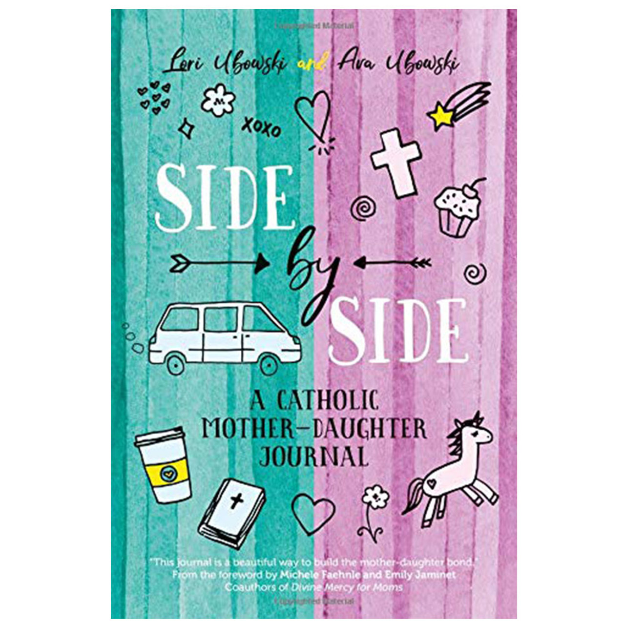 Side by Side Mother Daughter Journal