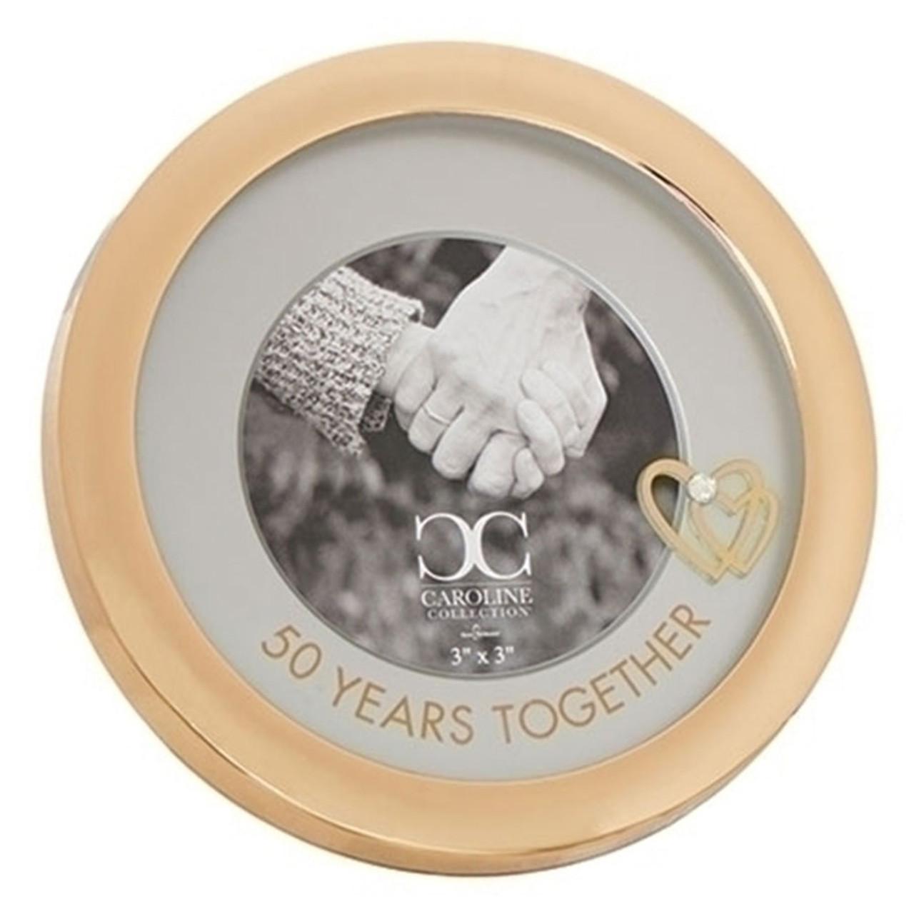 50th Anniversary Round Frame