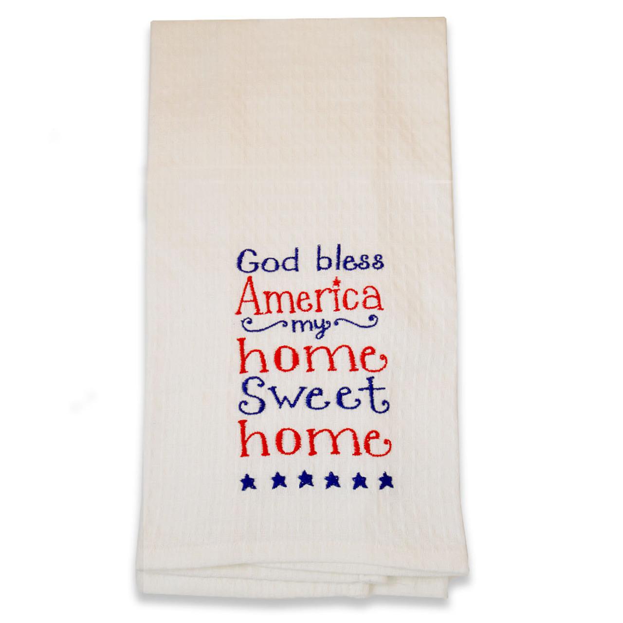 God Bless America Towel