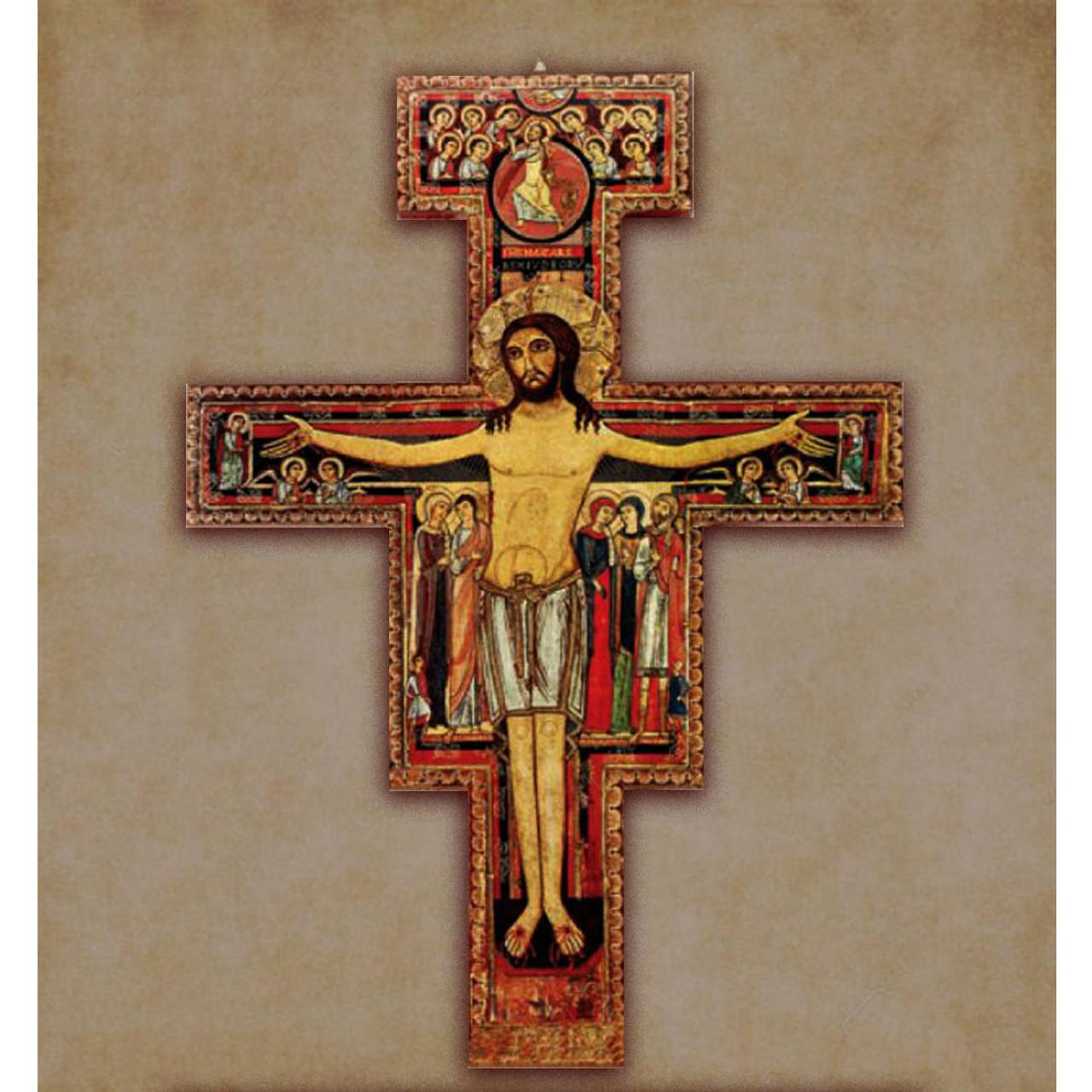 "W111 52"" San Damiano Cross"