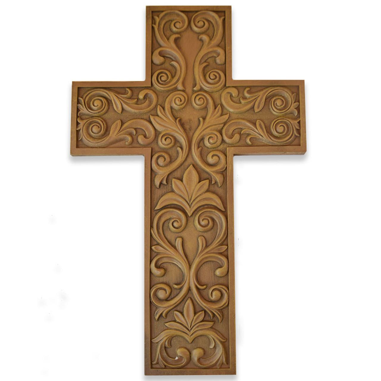 Embossed Wall Cross