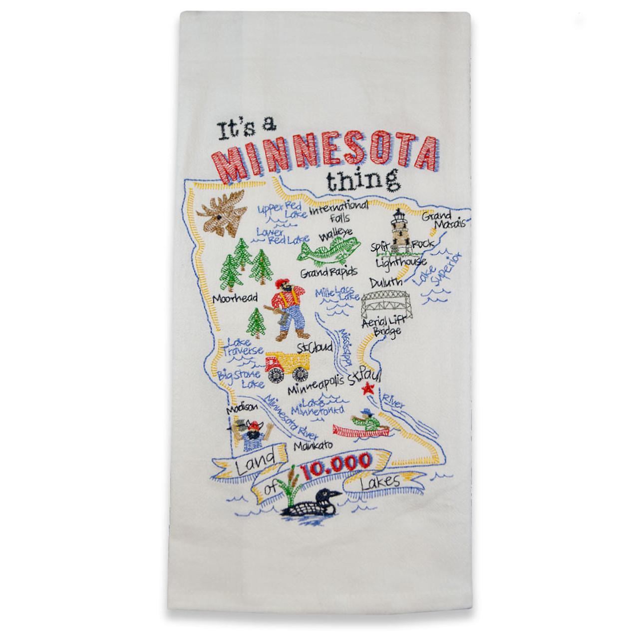 Minnesota State Thing Tea Towel