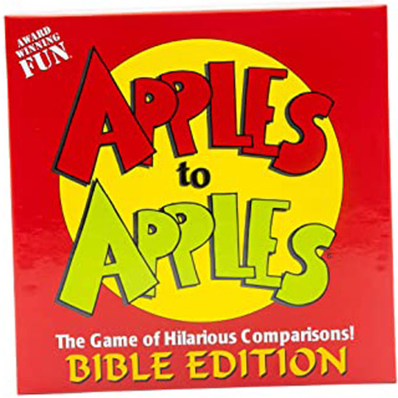 Apples to Apples Bible Version Game