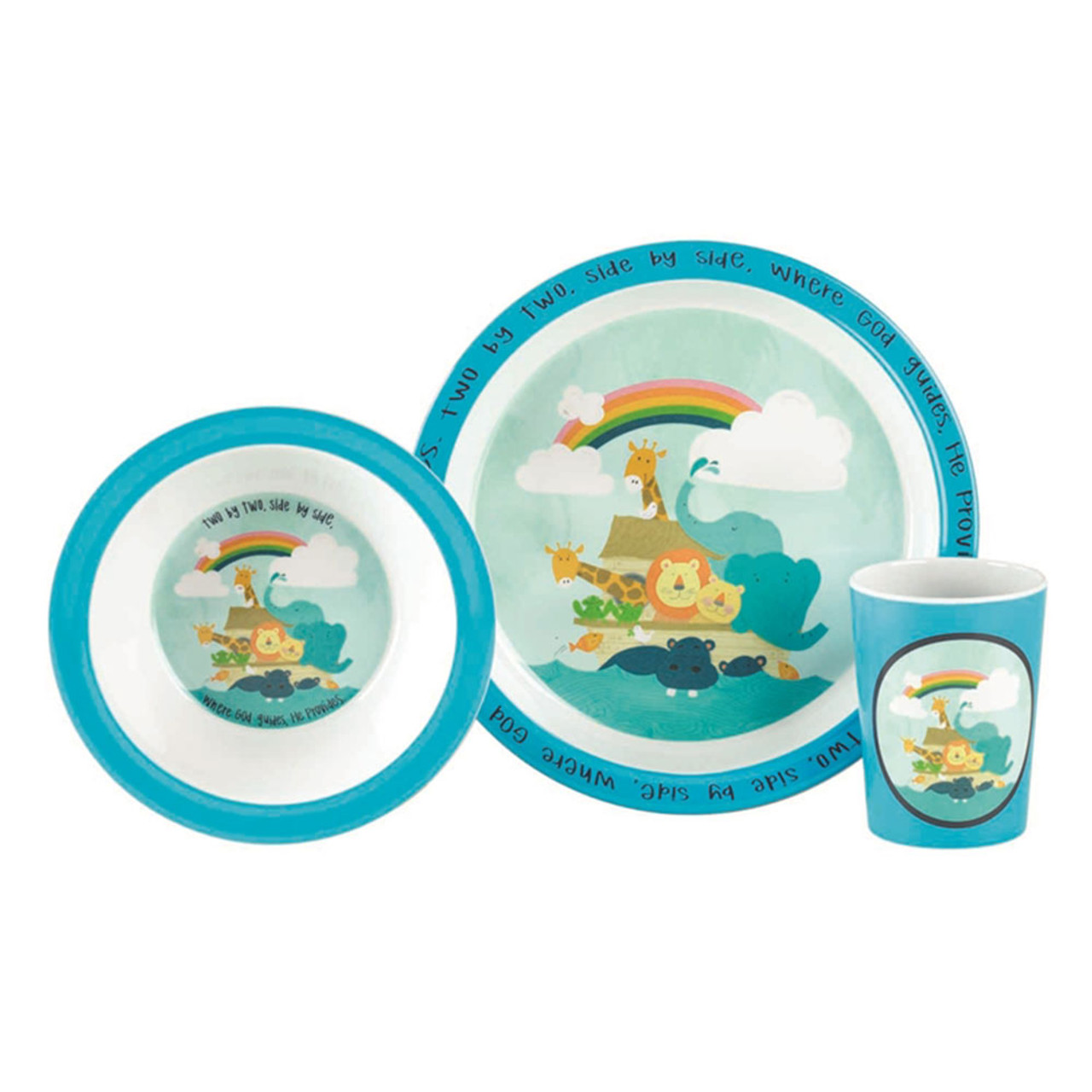 Noah's Ark Two by Two Dish Set