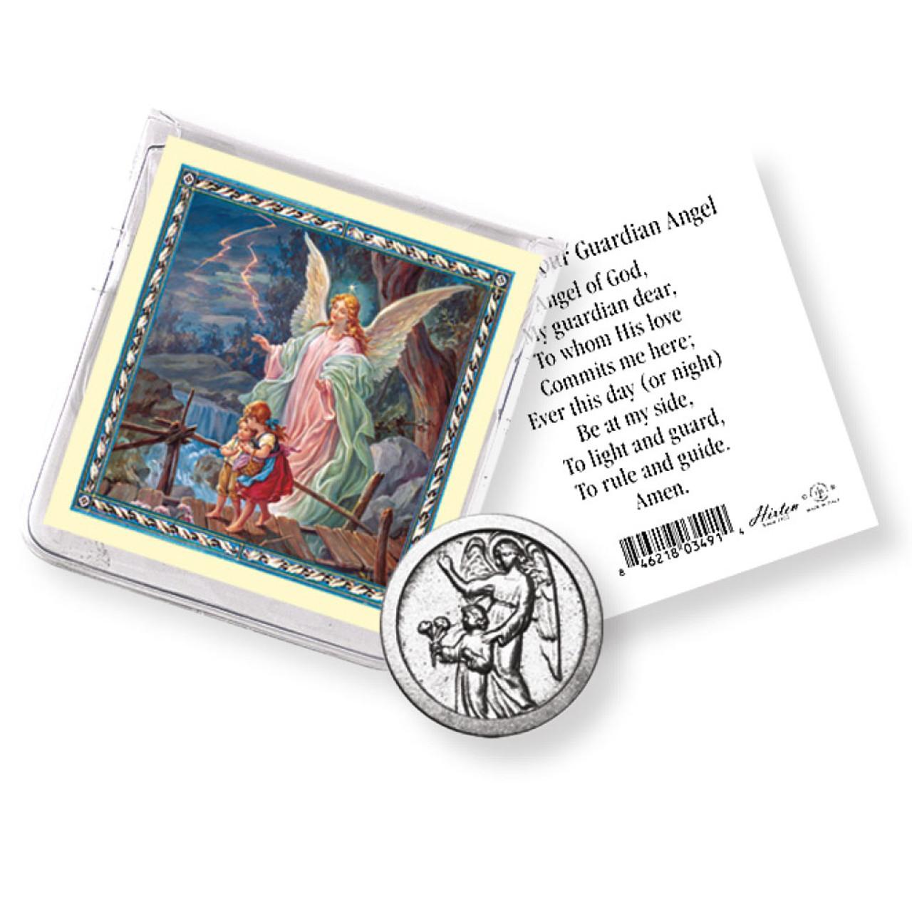 Guardian Angel Pocket Coin